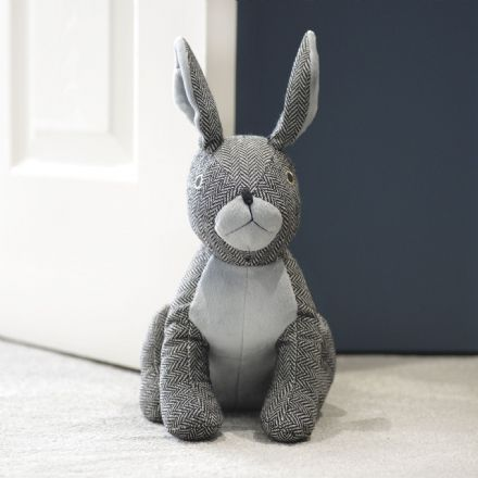 Luxury Rabbit Padded Doorstop